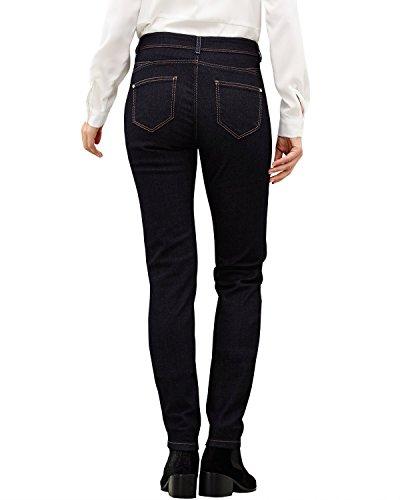 Comma, Jeans Femme Bleu (blue denim stretch 59Z8)