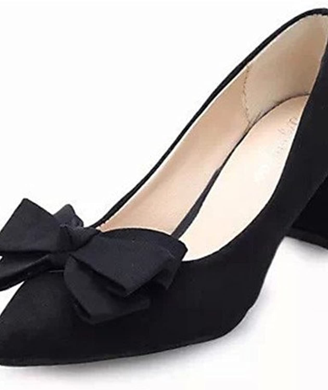 GGX/Damen Schuhe Fleece Sommer Heels Heels Casual geschoben Ferse andere schwarz/rot/fuchsia