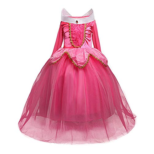 Kostüm Adult Girl Indian - 4 7 8 9 10 Years ELSA Dress Children Role-Play Costume Princess Cinderella Girls Ball Gown Party Christmas Cosplay Vestido Blue Rose Red 9