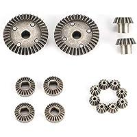 12 T 15 T 24 T 38 T Metall Vorne Hinten Differential / Motor Fahrwerk Upgrade Teile Zwei Sätze für WLtoys A949 A959 1/18 RC Auto