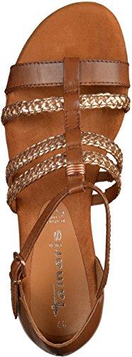 Tamaris1-1-28108-28-363 - Sandales Pour Femmes Braun (cognac)