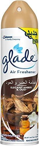 GLADE Elegant Amber And Oud Air Freshener