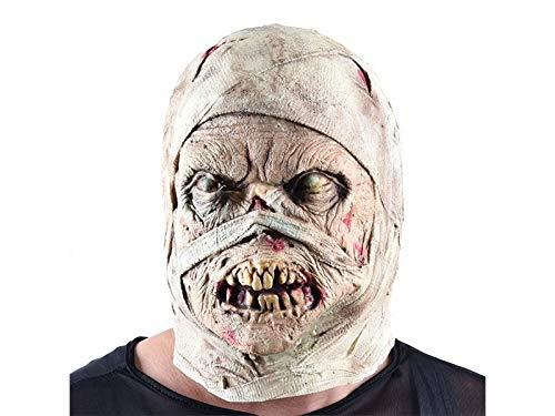 Yyanliii Komisch Horror Mumie Maske Scary Zombie Maske -