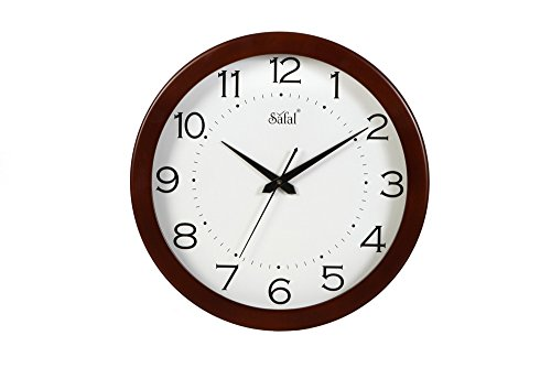 Safal Full Figured Beauty Wall Clock (Brown, SQ 2022)
