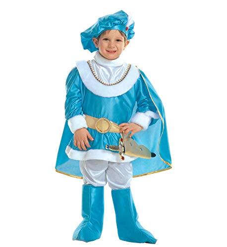 WIDMANN Costume Carnevale Bimbo Principe Azzurro *19654 Prince-4/5 Anni