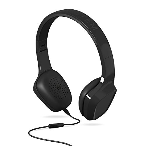 Energy Sistem Headphones 1 Black Mic (Mic,Control de Voz, Audio-In, Plegable)