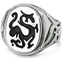 Anillo de dragón inoxidable