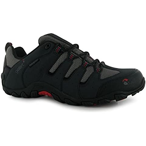 Gelert para hombre Rocky–Zapatos de Senderismo Cordones Senderismo Exterior Impermeable