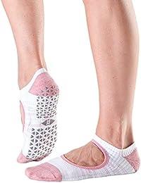 Tavi Noir chey Mary Jane orgánico agarre antideslizante calcetines de punto para barre, pilates,