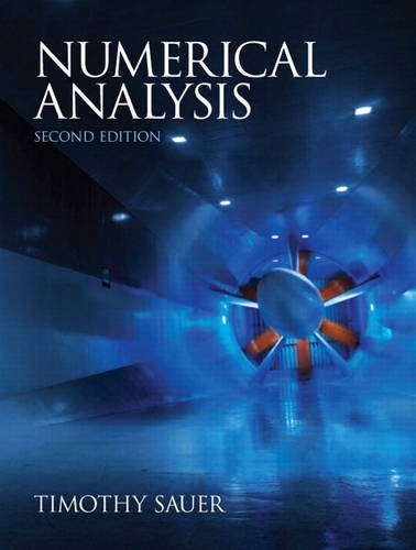 Amazon. Com: numerical analysis, 2nd edition (9780321783677.