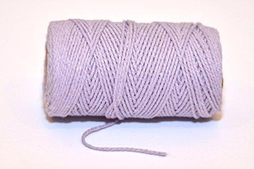 Premium Highland Heather/lilas 100% coton ficelle – 10 mètres 10 m Longueur de coupe par Cranberry Card Company