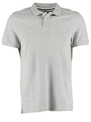 Polo-Shirt für Herren Schwarz oder Grau in Regular-Fit von
