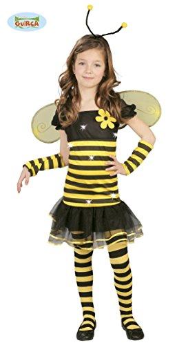(Biene - Kostüm für Kinder Gr. 110 - 146, Größe:140/146)