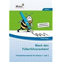 Mach den Füllerführerschein! (CD-ROM): Grundschule, Deutsch, Klasse 1