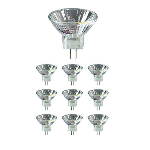12vmonster (10Stück) 20Watt 24V MR11GU4Sockel Halogen Lampe 20W BiPin Leuchtmittel 24Volt - Bi-pin-halogen-sockel
