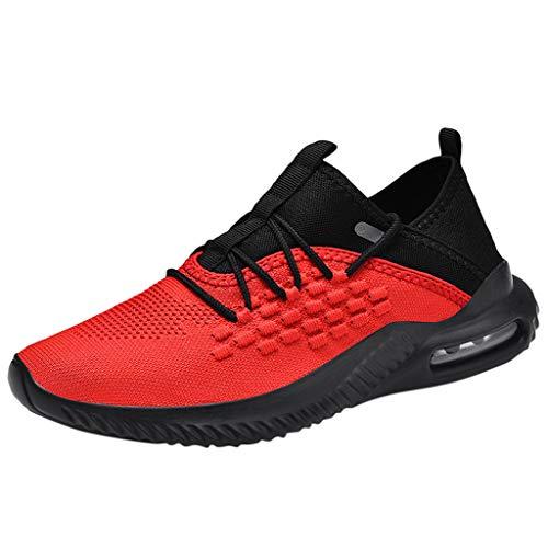 Suitray Männer Schuhe Sommer Cool Mesh Atmungsaktiv Sneaker Herren Sportschuhe Laufschuhe Mode Strassenmode Turnschuhe Freizeitschuhe Neutral-Schuhe Joggingschuhe Neu eingetroffen