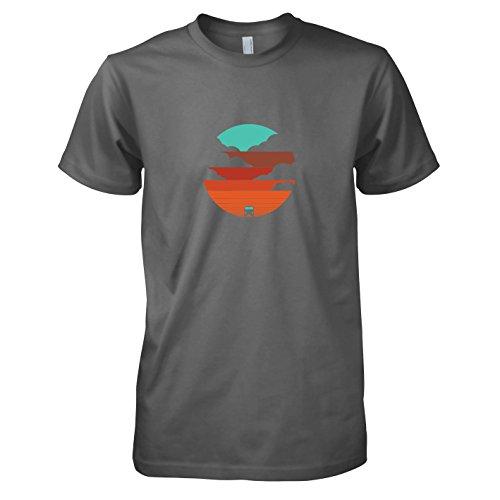 Kostüme Für Samba Männer (TEXLAB - Bulli Life - Herren T-Shirt, Größe XL,)
