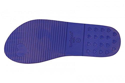Flip KRUGER Madl Ladies Flops 4113-8 bleu, Gr. 37-40 blau