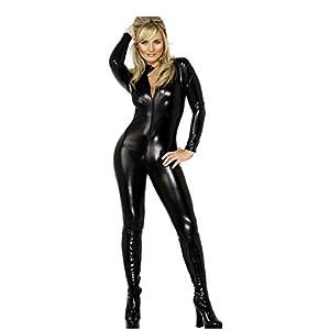 Lackleder Korsett Nasses Aussehen Kleider der Königin Aufmachen Lederanzug Nachtclub Performance-Uniformen Innerhalb Verführung Sexy Dessous