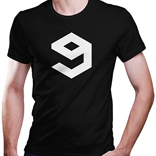 DragonHive Herren T-Shirt 9GAG Logo Fan Edition, Größe:XL, Farbe:Schwarz
