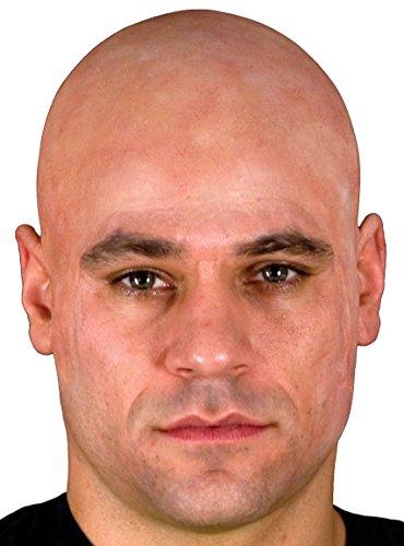 Beige Costume Bald Cap
