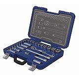 Michelin Steckschlüsselsatz MSS-29-1/2, 29-teilig, 1/2 Zoll - Profiqualität für die heimische Werkstat - 602010050