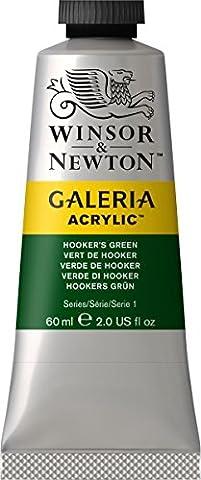 Galeria Tube Acrylic Colour, Hookers Green, 60