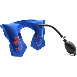 MYMilky Blaue Pumpe Keil Schlosser T U Form Größe Auto Air Wedge Airbag Verschluss-Auswahl Set Offene Auto Türschloss 22x14 cm Hardware