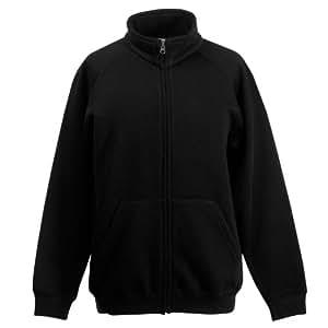 Kid's Sweat Jacket 12 / 13 MM, Black