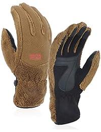 0072173f06d0d8 LORYLOLY Touchscreen Thermo Handschuhe für Herren Damen, Überlegen  Wollstoff Warme Schneehandschuhe, Rutschfeste Winddichte…