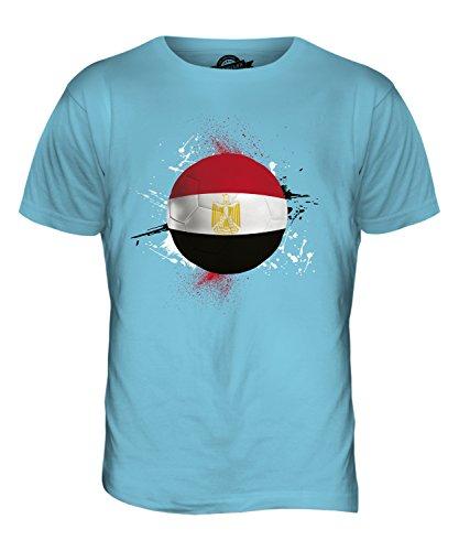 CandyMix Ägypten Fußball Herren T Shirt Himmelblau