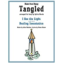 Tangled: Music from the Disney Motion Picture Arranged for Harp by Sylvia Woods (2014-04-01)