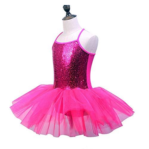 Mädchen Tutu Tanzkleid Kleine Mädchen glitzernde Pailletten