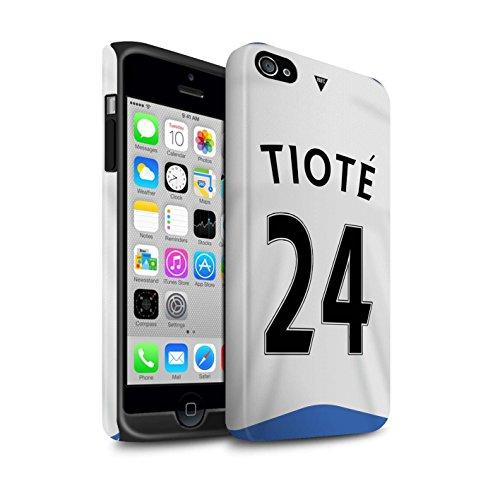 Offiziell Newcastle United FC Hülle / Matte Harten Stoßfest Case für Apple iPhone 4/4S / Pack 29pcs Muster / NUFC Trikot Home 15/16 Kollektion Tioté