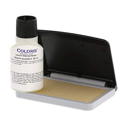 UV-Farben Set (Kissen und Coloris UV Stempelfarbe) - Uv-tinte