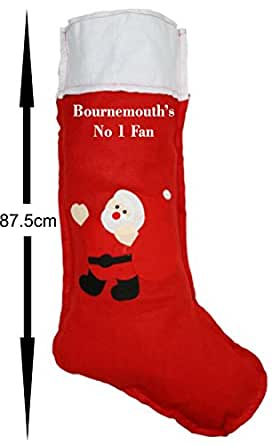 Bournemouth Fan Christmas Stocking