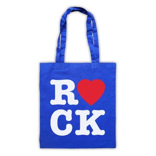 "Scritta in inglese ""I Love Rock'Borsa Blu"