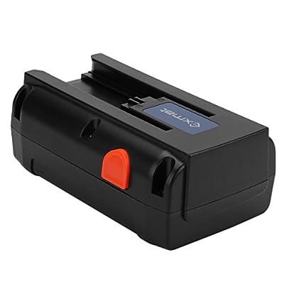 Exmate 25V 5000mAh Li-Ion Ersatzbatterie für Gardena 04025-20 Fit für Gardena Accu-Spindelmäher 380 Li
