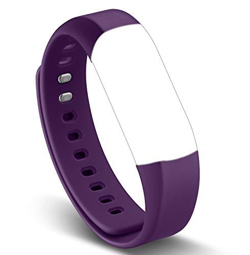 Arbily Vigorun4.0 Fitness Tracker Band, verstellbarer Ersatz Herzfrequenz Monitor Strap für Smart Tracker Armbänder (violett)