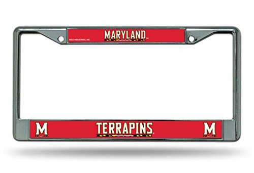NCAA Chrome Teller Rahmen, Maryland Terrapins