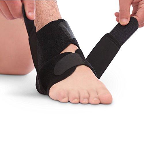 oxoxo med Fußbandage mit Klettverschluss zur Stabilisierung des Sprunggelenks – perfekter Halt und Passform durch 4-Phasen-Verschluss