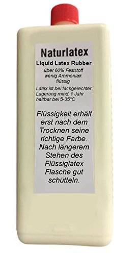 Flüssiglatex NATUR 1 Liter Maskenbildner