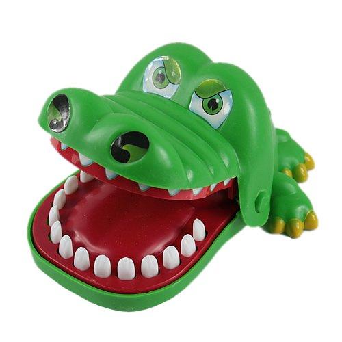 elzeug Relax Spielzeug Big Mouth Krokodil Zahnarzt Bite Finger Spiel (Gute Halloween Spiele Für Erwachsene)