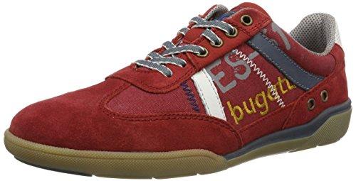 bugatti-k230636-scarpe-da-ginnastica-basse-uomo-rosso-rot-300-46-eu