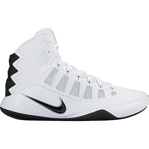 Nike Wmns Hyperdunk 2016 Tb, Scarpe da Basket Unisex – Adulto Bianco (Bianco (white/black)) (nero)