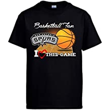 Camiseta NBA San Antonio Spurs Baloncesto Basketball Fan I Love This Game