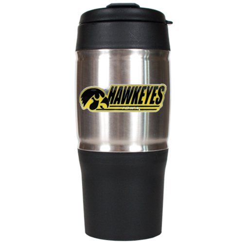 NCAA Iowa Hawkeyes 18-Ounce Heavy Duty Travel Tumbler by Great American Products Great American Products Tumbler