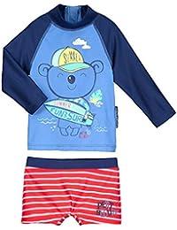 1f56e8f20187c Petit Béguin - Maillot de bain ANTI-UV 2 pièces t-shirt   boxer