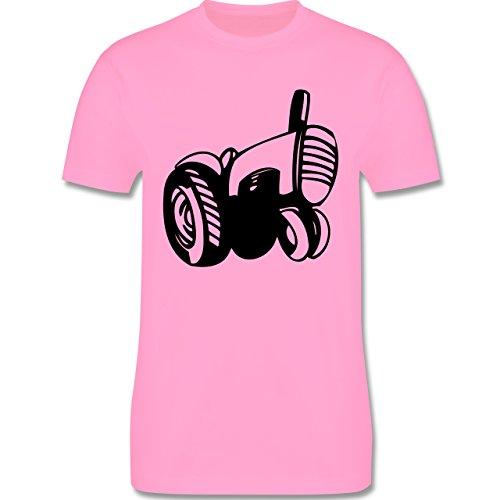 Andere Fahrzeuge - Traktor - Herren Premium T-Shirt Rosa