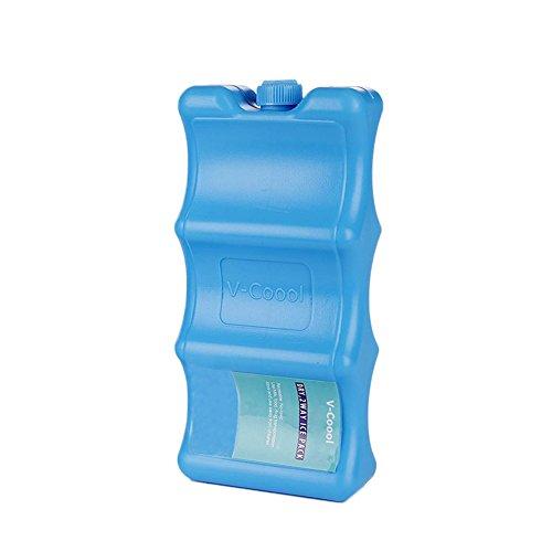 Keptfeet confezioni di ghiaccio riutilizzabili per conservare il latte materno-mantenere fresco il latte materno, forma anatomica si adatta perfettamente intorno bottiglie di latte materno
